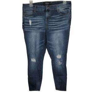 TORRID Premium High Rise Skinny Jean 18R